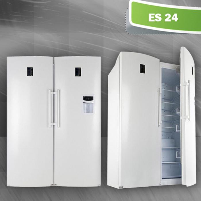 یخچال و فریزر دوقلوی الکترواستیل مدل ES24
