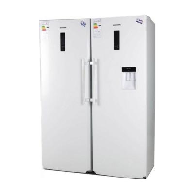 یخچال و فریزر دوقلوی الکترواستیل مدل ES24 (سفید چرم)