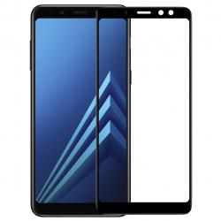 محافظ صفحه نمایش شیشه ای تمپرد نیلکین مدل CP Plus مناسب برای گوشی موبایل سامسونگ Galaxy A8 Plus (مشکی)
