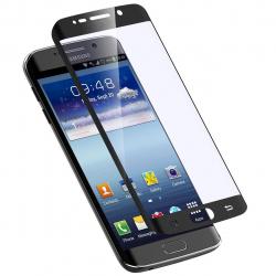 محافظ صفحه نمایش شیشه ای بوف مدل PET مناسب برای گوشی سامسونگ S6 Edge (مشکی)