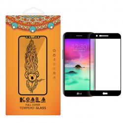 محافظ صفحه نمایش شیشه ای کوالا مدل Full Cover مناسب برای گوشی موبایل ال جی K10 2017