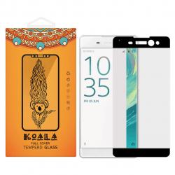 محافظ صفحه نمایش شیشه ای کوالا مدل Full Cover مناسب برای گوشی موبایل سونی Xperia XA Ultra