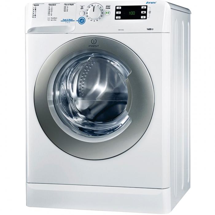 ماشین لباسشویی ایندزیت مدل XWE91483 با ظرفیت 9 کیلوگرم