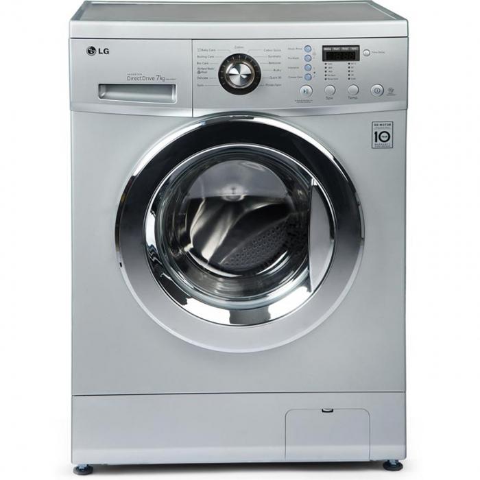 ماشین لباسشویی ال جی مدل WM-378NT با ظرفیت 7 کیلوگرم