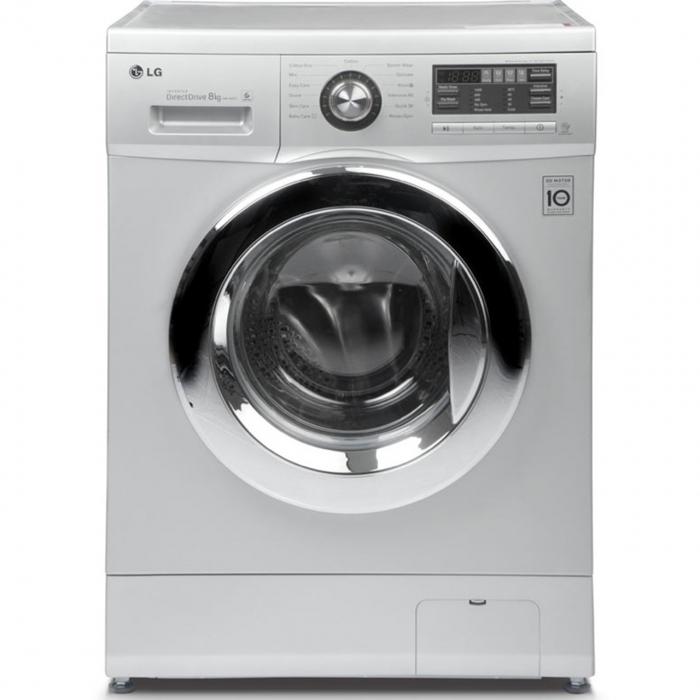 ماشین لباسشویی ال جی مدل WM-380NT با ظرفیت 8 کیلوگرم