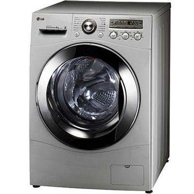 ماشین لباسشویی ال جی مدل WM-148N با ظرفیت 8 کیلوگرم