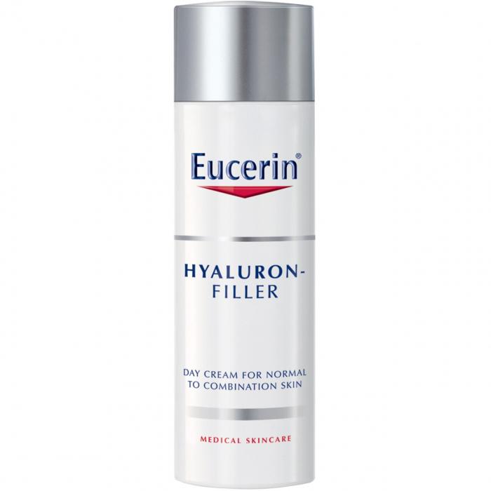 کرم (فلویید) ضد چروک روز اوسرین مدل Hyaluron Filler SPF15 مناسب پوست نرمال و چرب حجم 50 میلی لیتر
