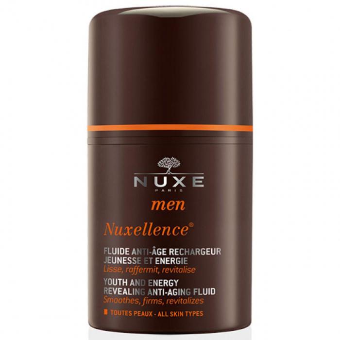 فلوئید ضد چروک و انرژی بخش آقایان نوکس سری Men Nuxellence حجم 50 میلی لیتر