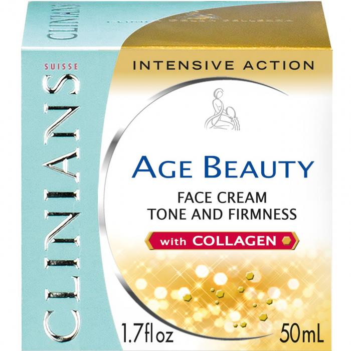 کرم سفت کننده کلینیانس سری Age Beauty مدل Intensive Action