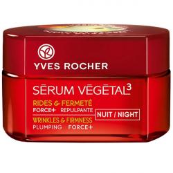کرم ضد چروک شب ایو روشه مدل Serum Vegetal 3 Force+ Night حجم 50 میلی لیتر