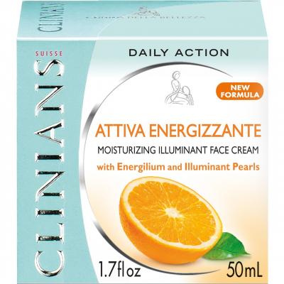 کرم دور چشم کلینیانس سری Attiva Energizzante مدل Daily Action