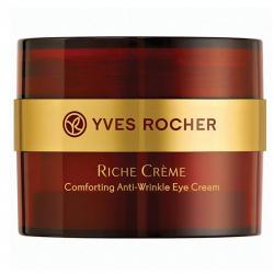 کرم دور چشم ایو روشه مدل Riche Creme Wrinkle Reducing حجم 15 میلی لیتر