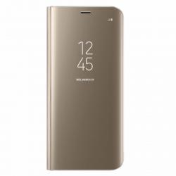 کیف کلاسوری سامسونگ مدل Clear View Standing مناسب برای گوشی موبایل سامسونگ Galaxy S9 plus (بنفش)