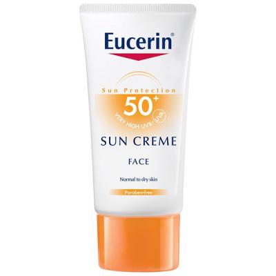 کرم ضد آفتاب اوسرین مدل +SPF50 مخصوص پوست خشک