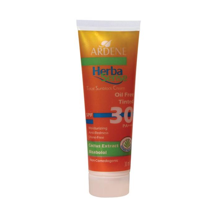 کرم ضد آفتاب رنگی آردن Herba Sense SPF30 حجم 30 میلی لیتر