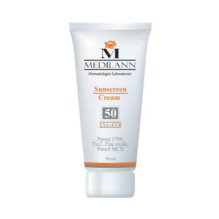 کرم ضد آفتاب رنگی مدیلن SPF50 حجم 50 میلی لیتر