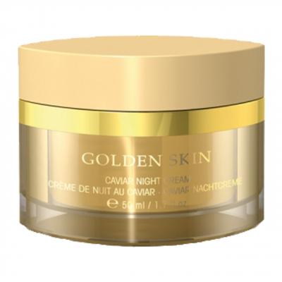 کرم سفت کننده صورت شب اتق بل سری Golden Skin کد 3294 حجم 50 میلی لیتر