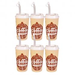 لیوان مهروز مدل Coffee بسته 6 عددی