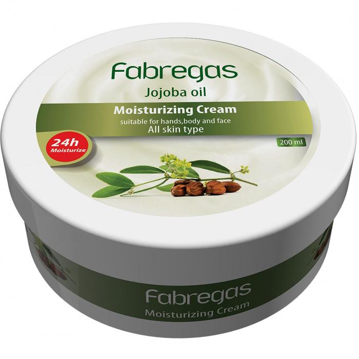 کرم مرطوب کننده فابریگاس مدل Jojoba حجم 200 میلی لیتر