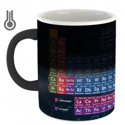 ماگ حرارتی زیزیپ مدل جدول مندلیوف 918M (چند رنگ)