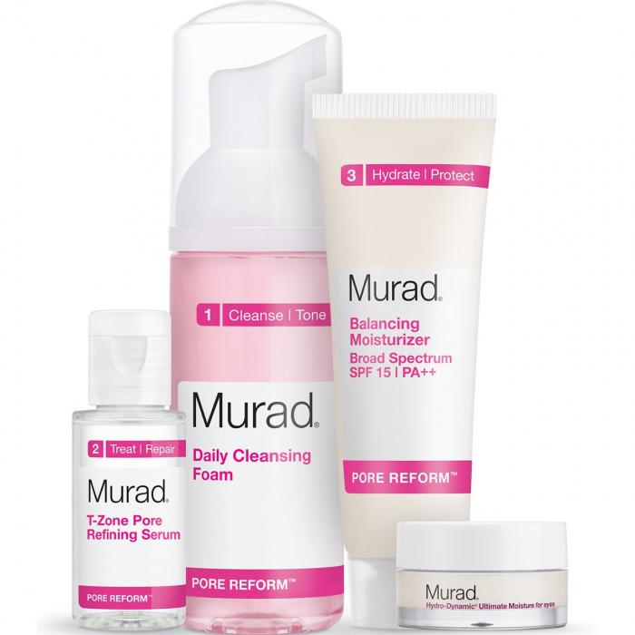 ست پاک کننده و مرطوب کننده پوست مورد سری  Pore Reform Starter Kit