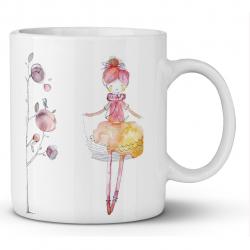ماگ ماگستان مدل دختر  رویایی 06 (سفید)
