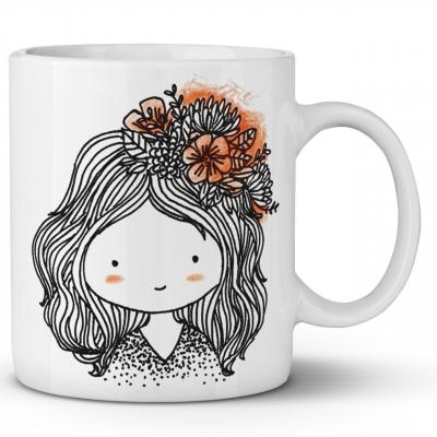 ماگ ماگستان مدل دختر  رویایی 24 (سفید)