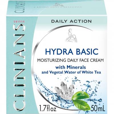 کرم مرطوب کننده کلینیانس سری Hydra Basic مدل Daily Action