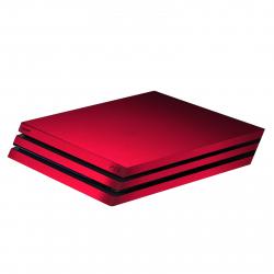 برچسب ماهوت مدل Red-Color Special مناسب برای کنسول بازی PS4 Pro (قرمز)
