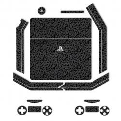 برچسب ماهوت مدلBlack Silicon Texture مناسب برای کنسول بازیPS4 Slim