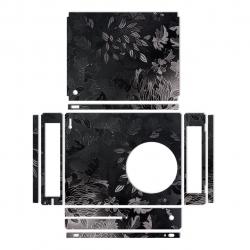 برچسب ماهوت مدلBlack Wild-flower Texture مناسب برای کنسول بازی Xbox One S (مشکی)