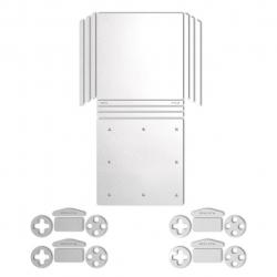 برچسب ماهوت مدلMetallic White مناسب برای کنسول بازی PS4 Pro