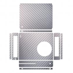 برچسب ماهوت مدلSilver Carbon-fiber Texture مناسب برای کنسول بازی Xbox One S (نقره ای)
