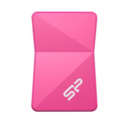 فلش مموری سیلیکون پاور مدل Touch T08 ظرفیت 16 گیگابایت (صورتی)