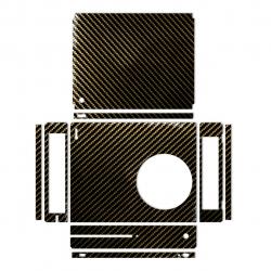 برچسب ماهوت مدل Brown Shine-carbon Special  مناسب برای کنسول بازی Xbox One S