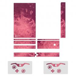 برچسب ماهوت مدل Red Wild-flower Texture  مناسب برای کنسول بازی Xbox One