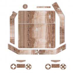 برچسب ماهوت مدل Vain-Cut-Marble Special  مناسب برای کنسول بازی PS4 Slim