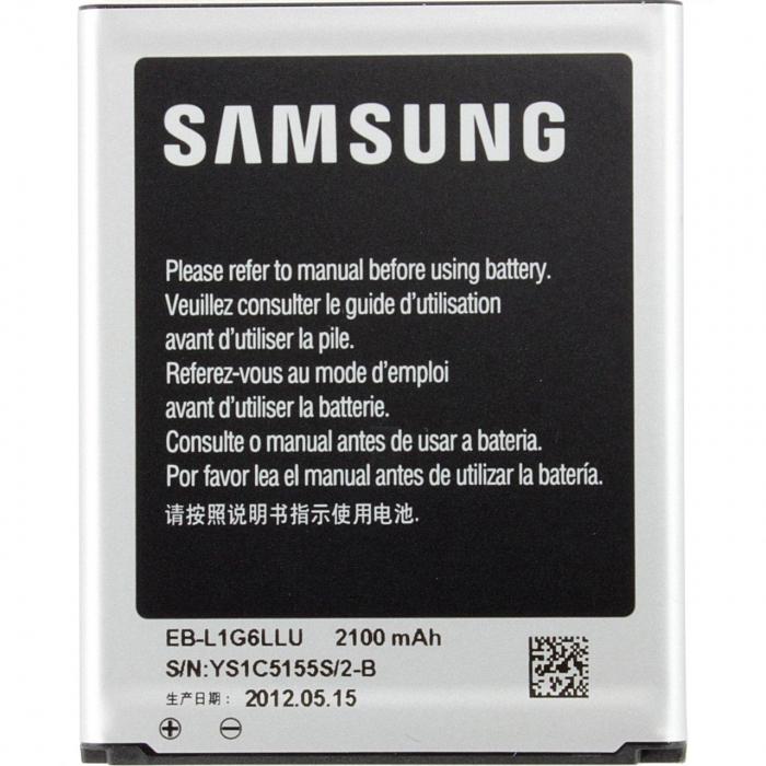 باتری موبایل اورجینال سامسونگ با ظرفیت 2100mAh مناسب برای گوشی موبایل سامسونگ مدل Galaxy S3