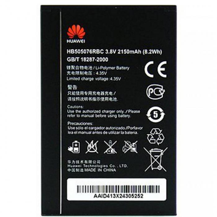 باتری موبایل هوآوی مدل HB505076RBC با ظرفیت 2150mAh مناسب برای گوشی موبایل هوآوی G700