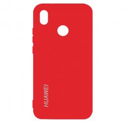 کاور سیلیکونی مناسب برای گوشی موبایل هوآوی Nova 3e/P20 Lite (قرمز)