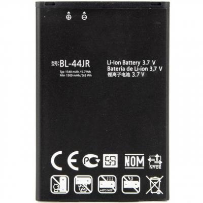باتری موبایل ال جی مدل BL-44JR با ظرفیت 1540mAh مناسب برای گوشی موبایل ال جی D160 L40