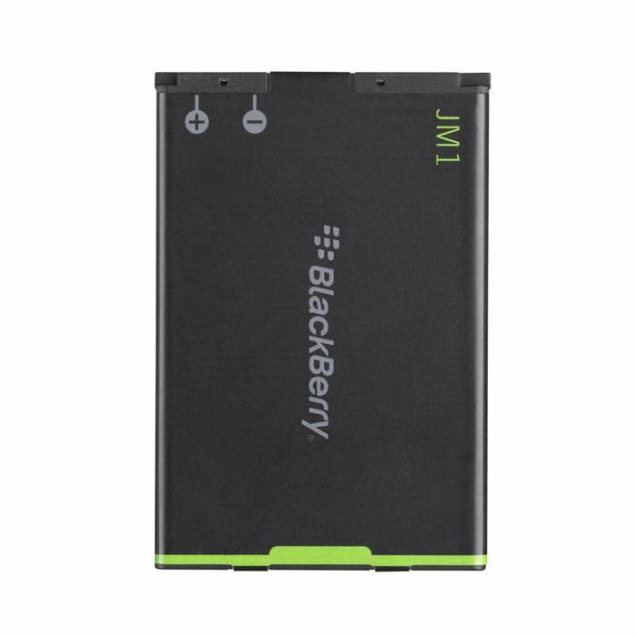 باتری موبایل بلک بری مدل JM1 با ظرفیت 1230mAh مناسب برای گوشی های موبایل بلک بری 9900-9930-9860-9850