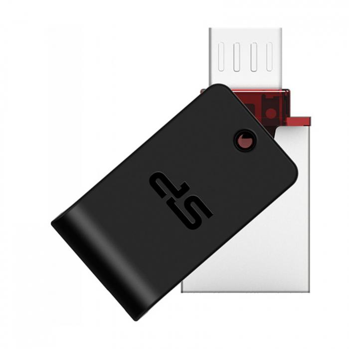 فلش مموری سیلیکون پاور مدل Mobile X31 ظرفیت 16 گیگابایت