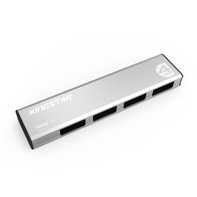 هاب USB کینگ استار مدل  KM-H1 (نقره ای)