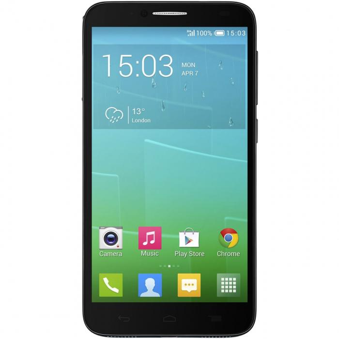 گوشی موبایل تک سیم کارت آلکاتل مدل Onetouch Idol 2 6037K