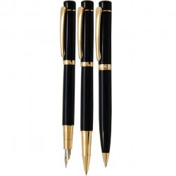 ست خودکار، روان نویس و خودنویس یوروپن مدل Cool (مشکی)
