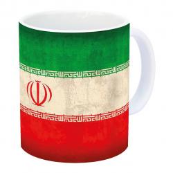 ماگ زیزیپ مدل پرچم ایران 309WM (چند رنگ)