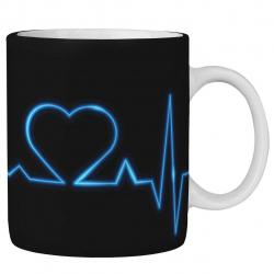 ماگ ماگستان مدل تپش قلب222AM232018 (مشکی)