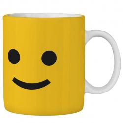 ماگ ماگستان مدل استیکر  لبخند 255AM232018 (زرد)