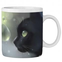 ماگ ماگستان مدل گربه زیبا 139AM232018 (مشکی)
